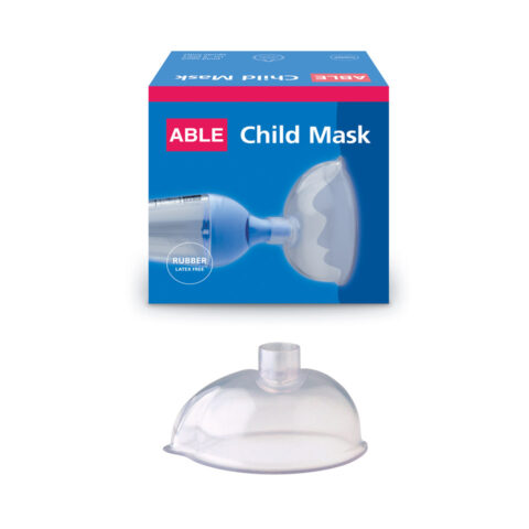 Able Spacer Child Mask - Rubber, with box