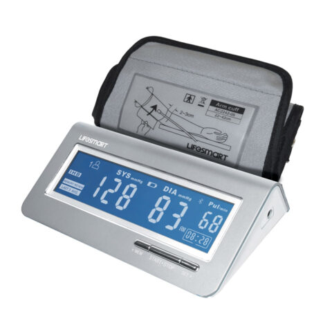 LifeSmart Blood Pressure Monitor Bluetooth - Silver