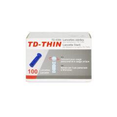 TD-THIN Lancets (Box of 100)
