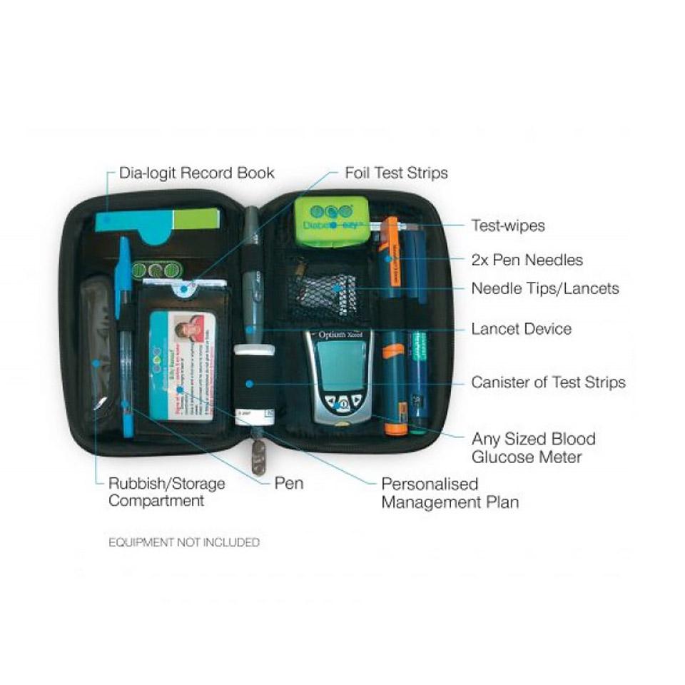 Diabete-ezy Ezy-fit Diabetes Case - Features