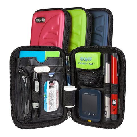 Diabete-ezy Diabetes Ezy-fit Case for Diabetes Test Kits